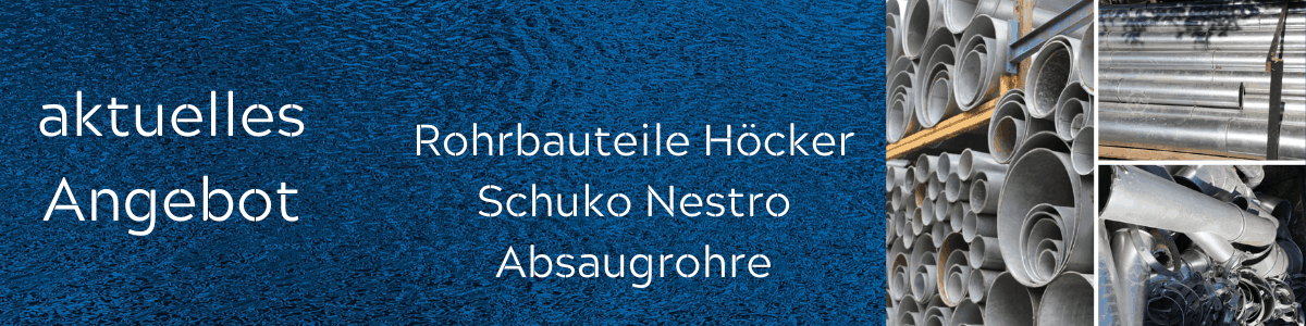 Absaugrohre