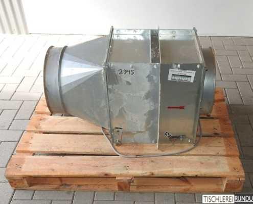 Feuerschutzklappe SCHUKO 350/350