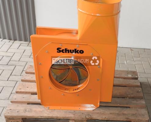Späneabsauggebläse Schuko 5.5 KW