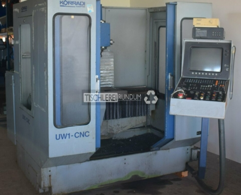 CNC Metallfräse Korradi UW 1 CNC