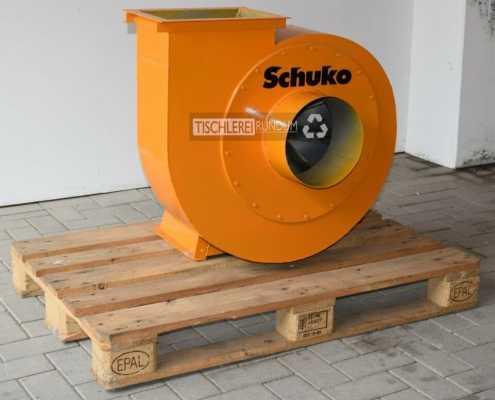 Radialventilator Schuko