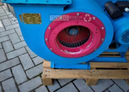 Radialventilator DDT 1,5 KW 3 A